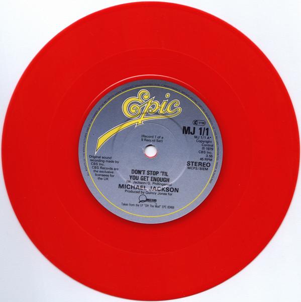 Jackson, Michael Don't Stop Til You Get Enough Vinyl
