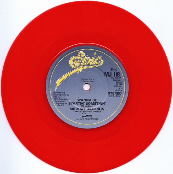 Jackson, Michael Wanna Be Startin' Something Vinyl