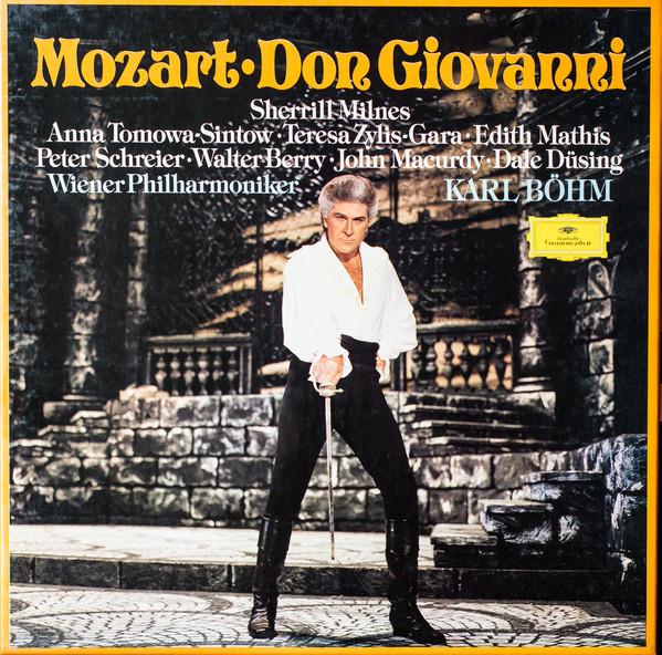 Mozart - Milnes, Tomowa-Sintow, Zylis-Gara, Mathis, Schreier, Berry, Macurdy, Dusing, Karl Bohm Don Giovanni Vinyl