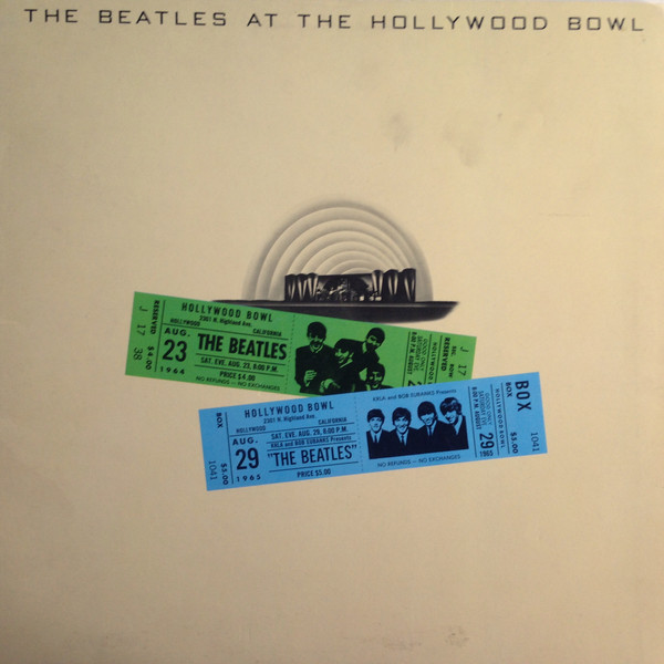 The Beatles The Beatles At The Hollywood Bowl