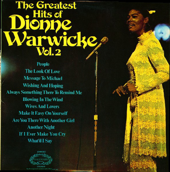 Warwicke, Dionne The Greatest Hits Of Dionne Warwicke Vol.2 Vinyl