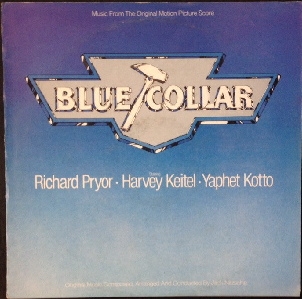 Original Motion Picture Soundtrack Blue Collar Vinyl