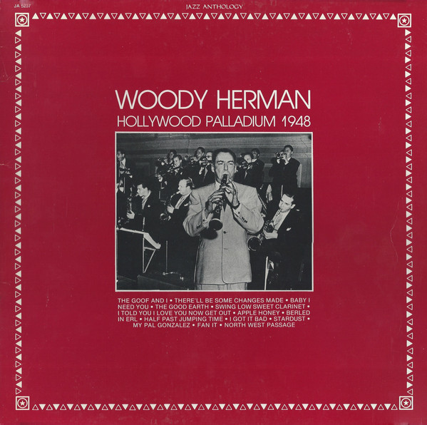 Herman, Woody Hollywood Palladium 1948 Vinyl