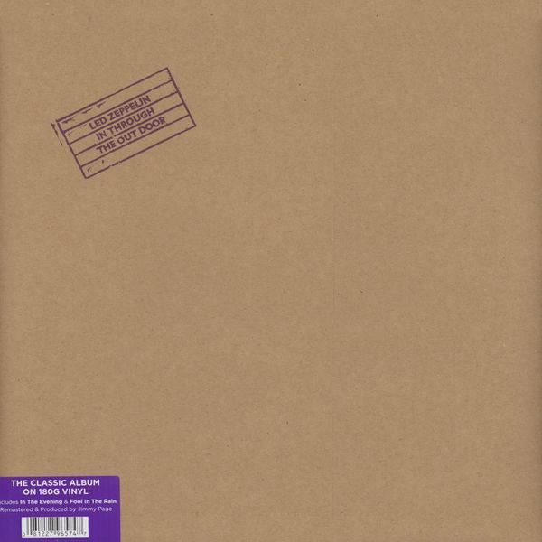 Led Zeppelin In Through The Outdoor Vinyl