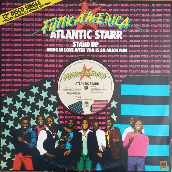 Atlantic Starr Stand Up Vinyl