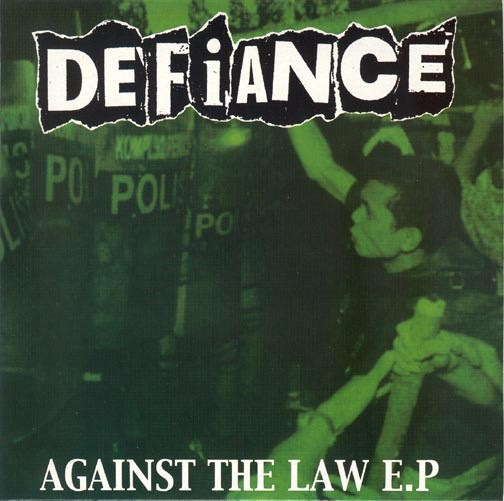 Defiance Against The Law E.P  Vinyl