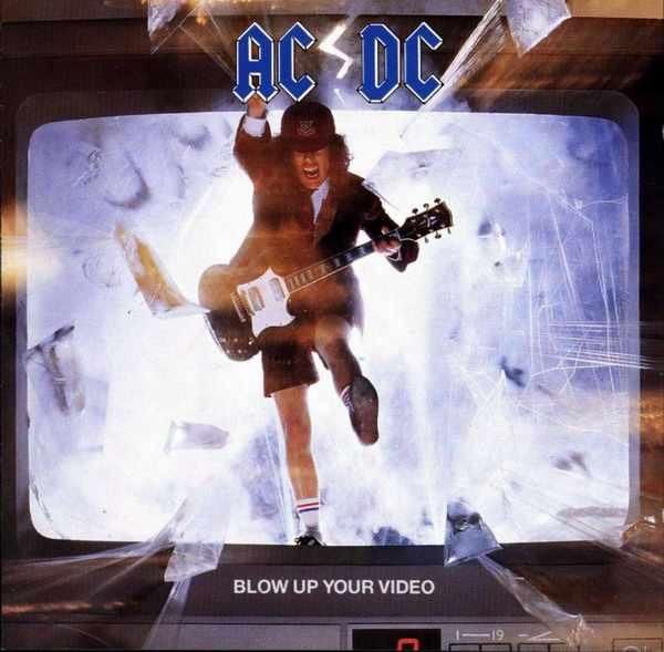 AC/DC Blow Up Your Video Vinyl