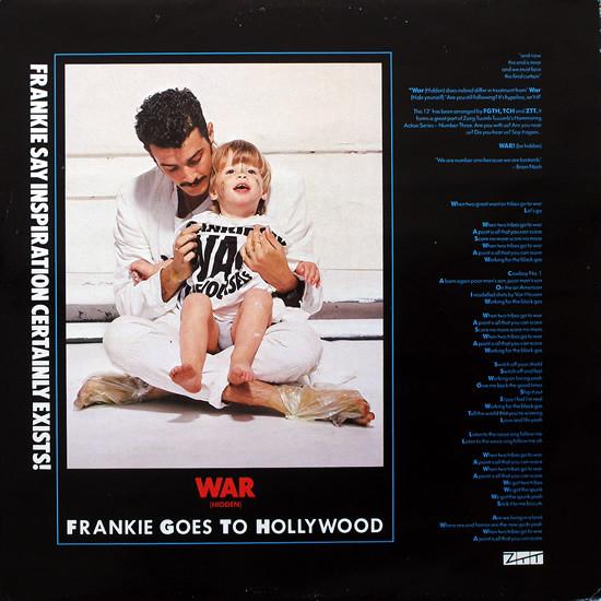 Frankie Goes To Hollywood War (Hidden)