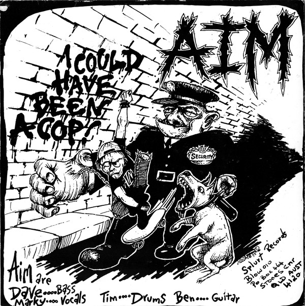 Anger In Motion / Pitchfork I Could Have Been A Cop Vinyl
