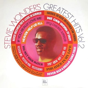 Wonder, Stevie Greatest Hits Vol 2