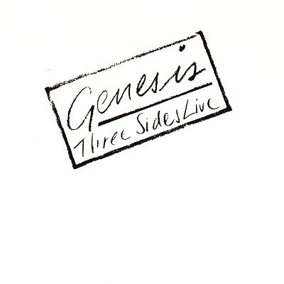 Genesis Three Sides Live Vinyl
