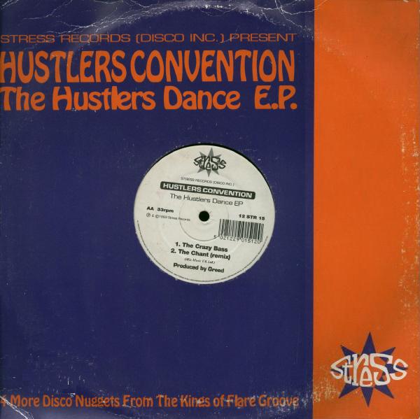 Hustlers Convention The Hustlers Dance EP Vinyl