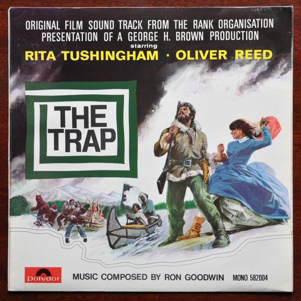 Ron Goodwin The Trap (Original Film Sound Track) Vinyl