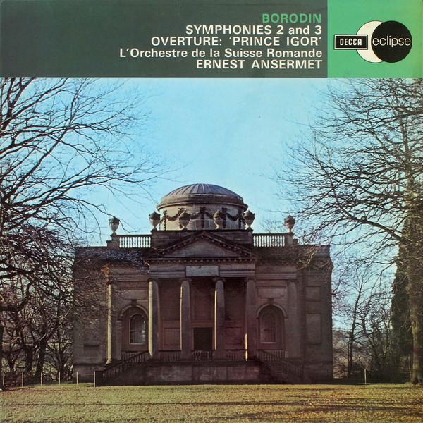 Borodin - Ernest Ansermet Symphonies 2 and 3 Vinyl