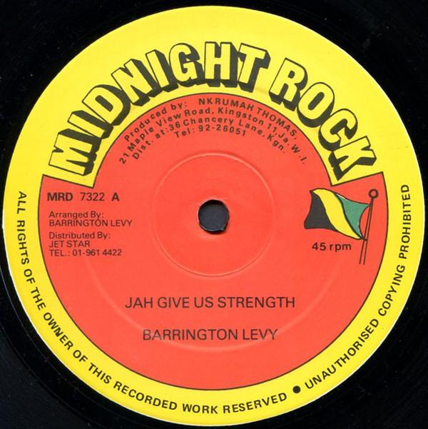 Barrington Levy / General Saint Jah Give Us Strength / Don't Take Life Vinyl