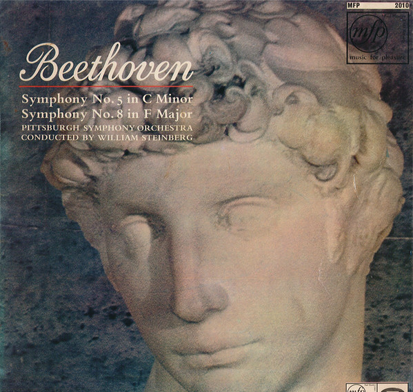 Beethoven - William Steinberg Symphony No. 5 in C major / Symphony No. 8 in F major Vinyl
