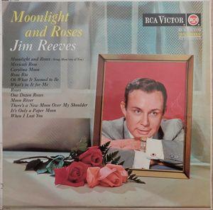 Reeves, Jim Moonlight And Roses Vinyl