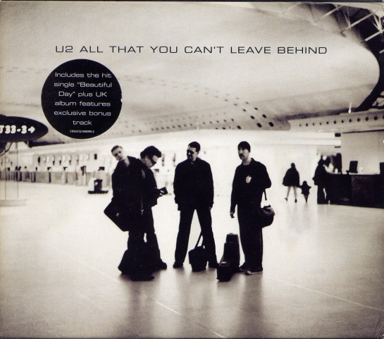 U2 All That You Can't Leave Behind CD