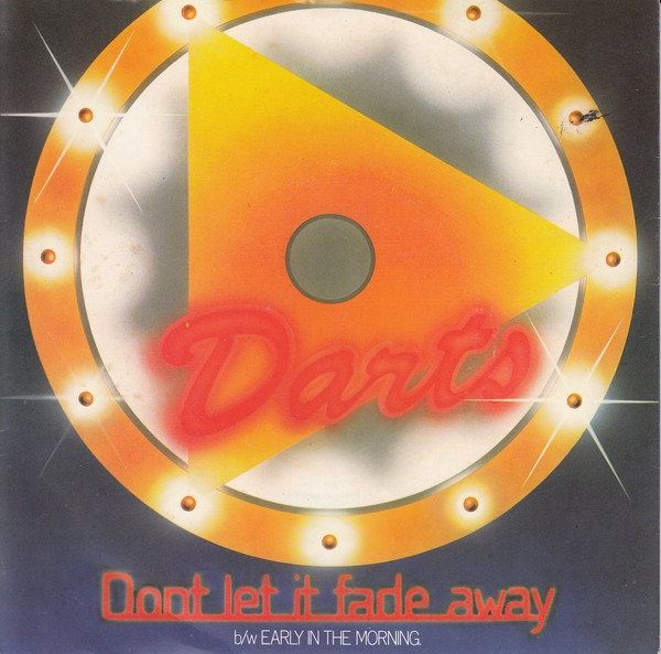 Darts Don't Let It Fade Away Vinyl