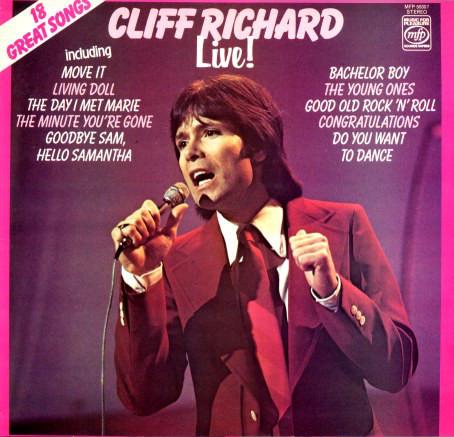 Richard, Cliff Cliff Richard Live