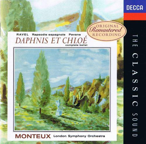Ravel - Monteux, London Symphony Orchestra Daphnis Et Chloé Vinyl