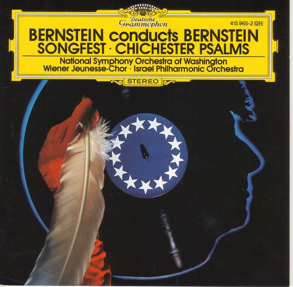 Bernstein Bernstein Conducts Bernstein: Songfest / Chichester Psalms CD