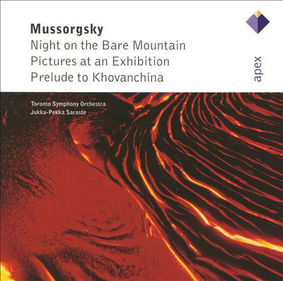 Mussorgsky - Jukka-Pekka Saraste Night on the Bare Mountain / Pictures at an Exhibition / Prelude to Khovanchina Vinyl