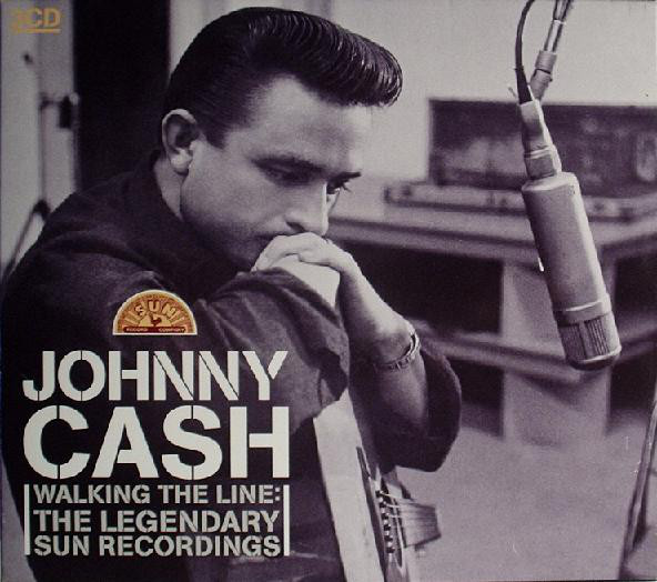 Cash, Johnny Walking The Line: The Legendary Sun Recordings - 3 CDs