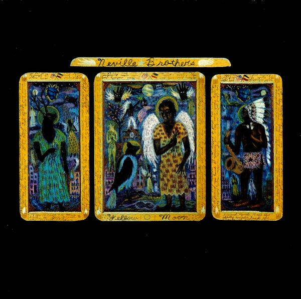 Neville Brothers Yellow Moon Vinyl
