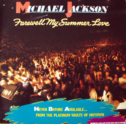 Jackson, Michael Farewell My Summer Love Vinyl