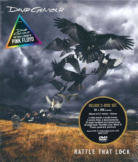 Gilmour, David Rattle That Lock (Deluxe Edition)