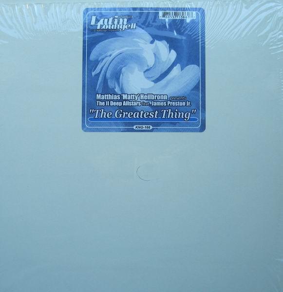 Matthias 'Matty' Helibroon* Presents The II Deep Allstars The Greatest Thing Vinyl