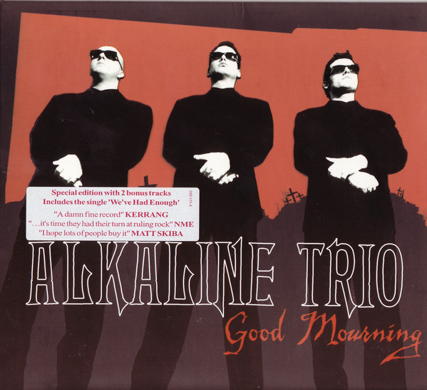Alkaline Trio Good Mourning CD