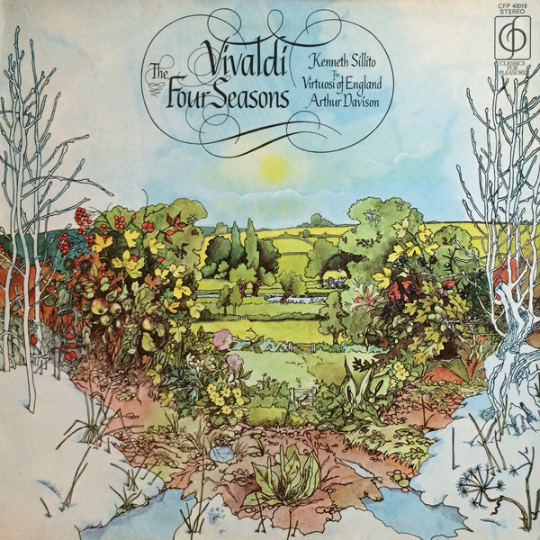 Vivaldi - Kenneth Sillito, Arthur Davison The Four Seasons