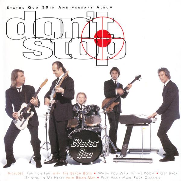 Status Quo Don't Stop CD