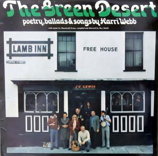 Harri Webb The Green Desert (Poetry Ballads & Songs By Harri Webb) Vinyl