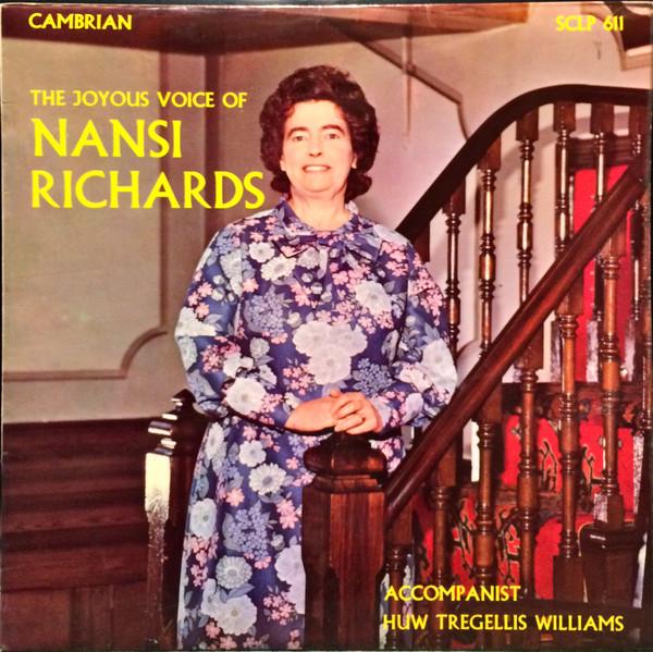 Richards, Nansi The Joyous Voice Of Nansi Richards