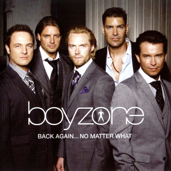 Boyzone Back Again No Matter What CD