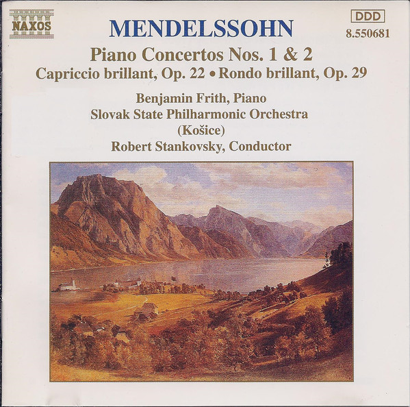Mendelssohn - Benjamin Frith, Robert Stankovsky Piano Concertos No. 1 & 2