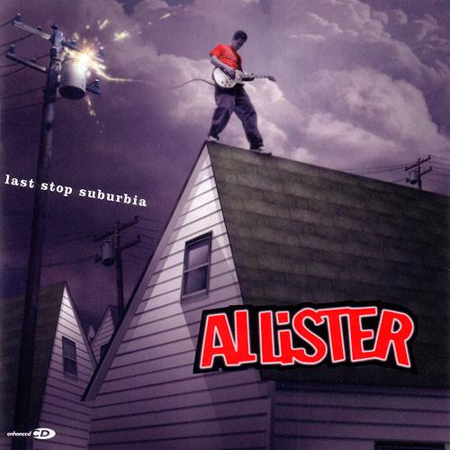 Allister Last Stop Suburbia CD