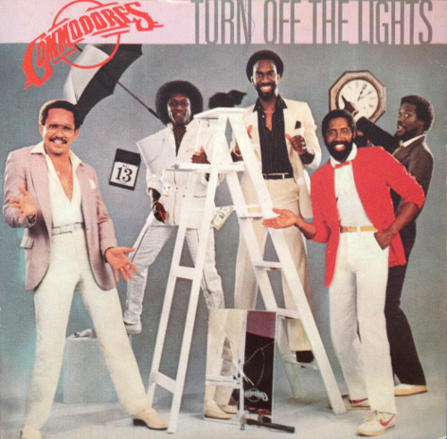 Commodores Turn Off the Lights Vinyl
