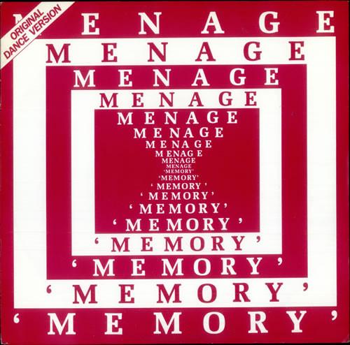 Menage Memory Vinyl