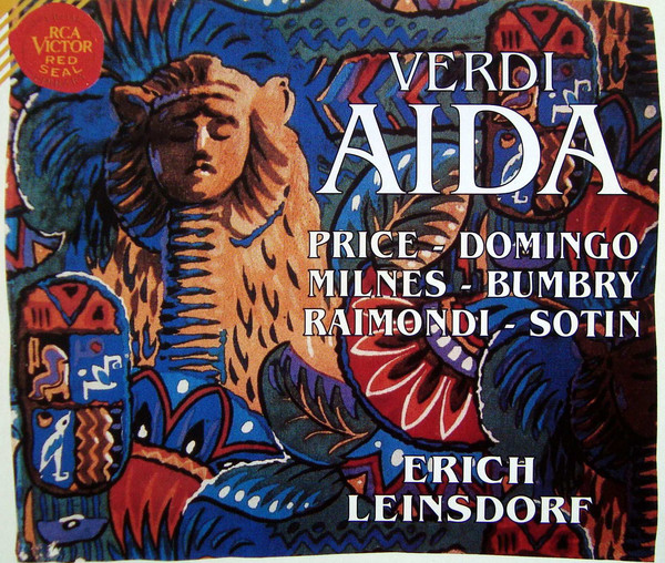 Verdi - Price, Domingo, Milnes, Raimondi, Sotin, Erich Leinsdorf Aida