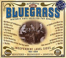 Various Authentic Rare Bluegrass