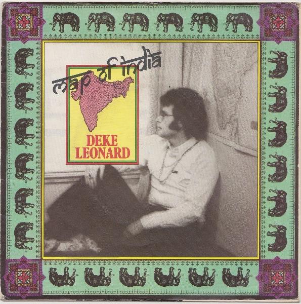 Leonard, Deke Map Of India