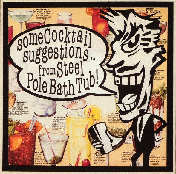 Steel Pole Bath Tub Some Cocktail Suggestions CD