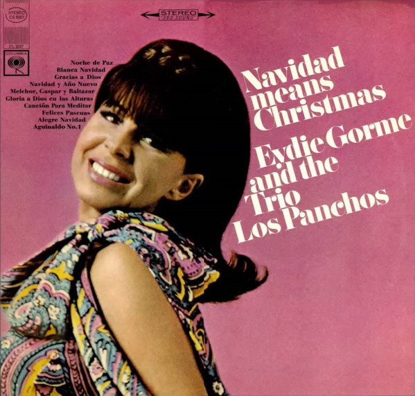 Eydie Gorme And The Trio Los Panchos Navidad Means Christmas Vinyl