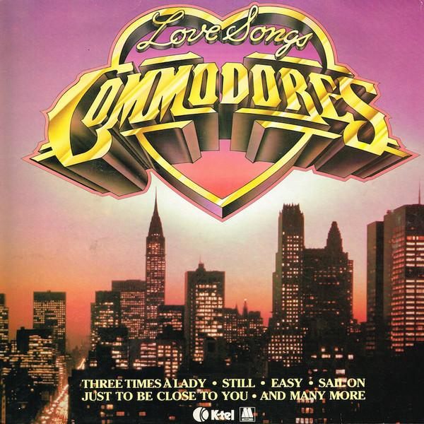 Commodores Love Songs Vinyl