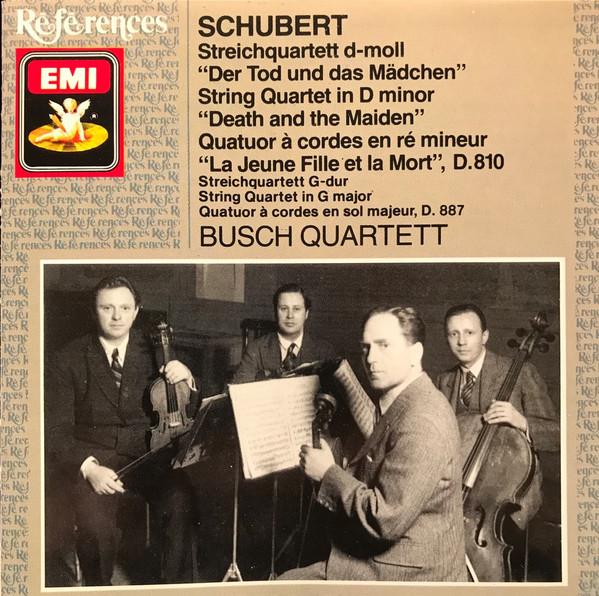 SChubert - Busch Quartett Streichquartette / String Quartets