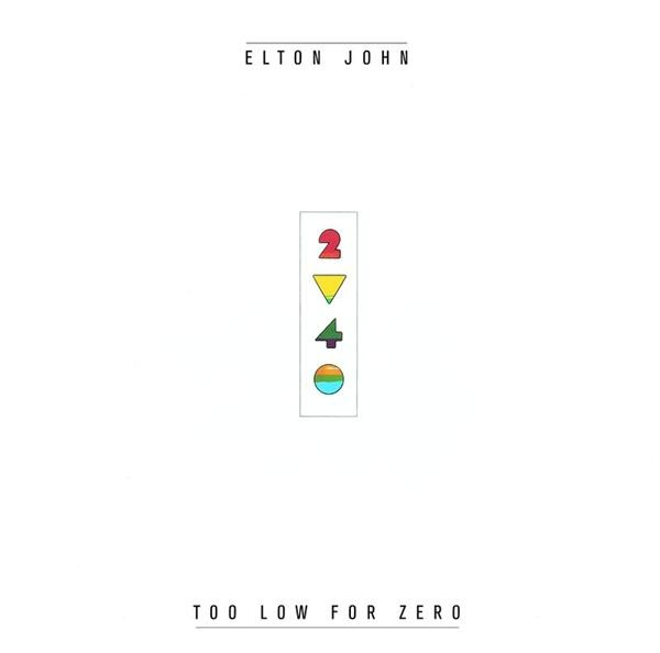 Elton John Too Low For Zero